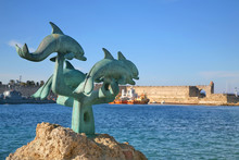 Harbour Of Rhodes