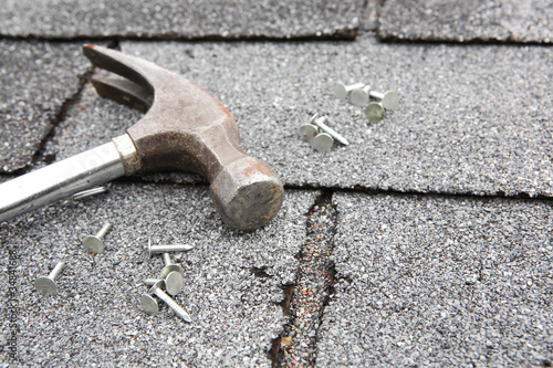 Fotografía Roof repair