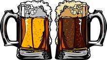 Beer Or Root Beer Mugs