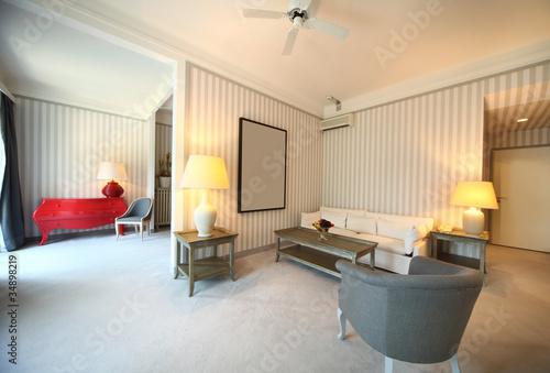 Hotel Di Lusso Interni : Interno di suite di hotel di lusso u2013 kaufen sie dieses foto und