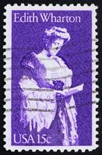 Postage Stamp USA 1980 Edith Wharton