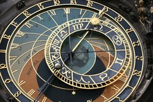 Astronomical Clock Next To Death