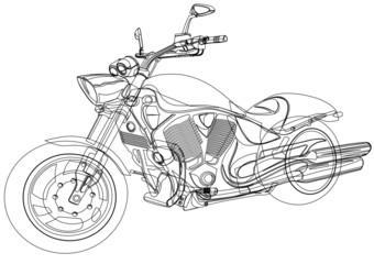 NaklejkaMotorcycle