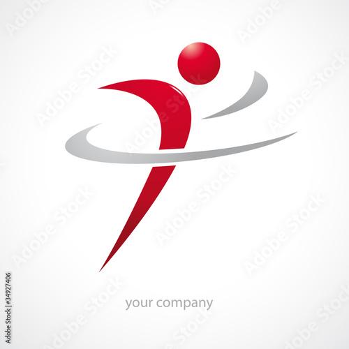 Fotografie, Obraz  logo entreprise, sport, santé