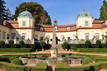 Castle Buchlovice In Czech Republic