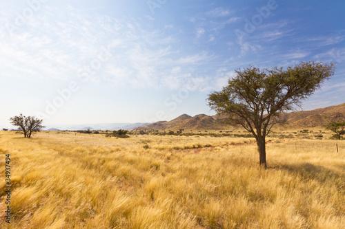 Foto auf Leinwand Afrika Naukluft Gebirge in Namibia, Afrika