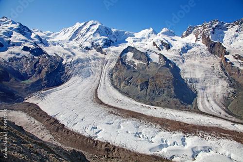 Papiers peints Arctique Melting glaciers