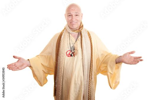 Obraz na plátně Smiling Guru