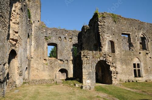 Deurstickers Rudnes château de Villandraut en Gironde