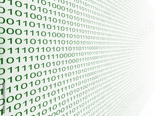 Fotografía  Binary code