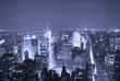 New York City Manhattan Times Square skyline aerial view