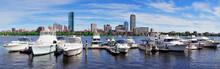 Boston Skyline Over River
