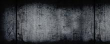 Dark Grunge Horizontal Background