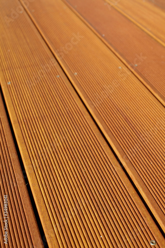 Bangkirai Bretter Als Holz Terrasse Buy This Stock Photo And