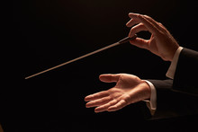 Conductor Conducting An Orches...