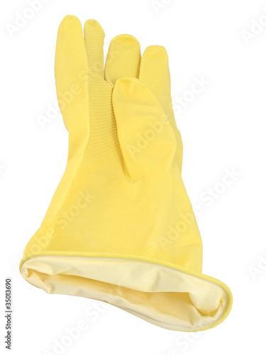 Obraz Rękawiczka gumowa - fototapety do salonu