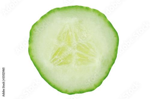 In de dag Verse groenten Cucumber