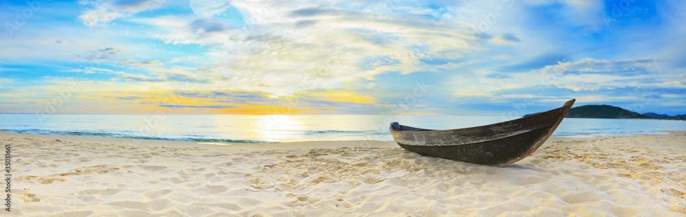 Fototapeta Beach panorama