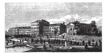 United States Naval Academy In Annapolis, Maryland, USA, Vintage