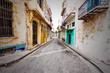 Shabby steet in Old Havana