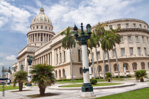 Deurstickers Havana The Capitol of Havana