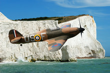 Spitfire Over The White Cliffs...