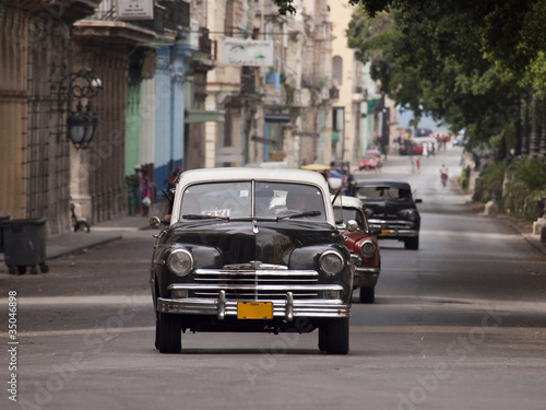 Canvas Prints Cars from Cuba auto cuba