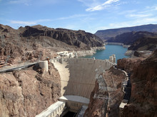 Hoover Dam Overhead Seen From ...