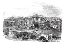 British Residency Or Koti Residency In Hyderabad India Vintage E