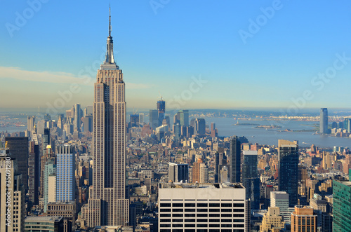 Fotografie, Obraz  Aerial view of Manhattan