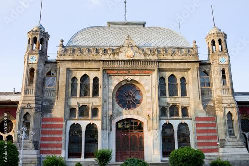 Fotografie, Obraz Orient Express Station in Istanbul