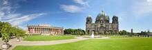 Berlin - Lustgarten Mit Dom Und Altes Museum