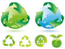 Global Recycling Icons