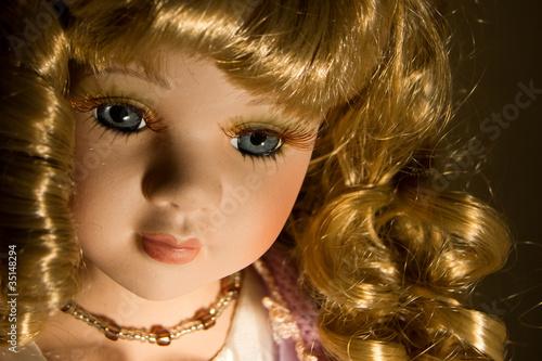 Vintage doll Fototapeta