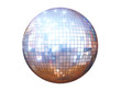 canvas print picture - disco ball isolated