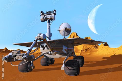 Foto op Canvas Kosmos The spacecraft