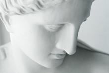 White Statue Of Venus