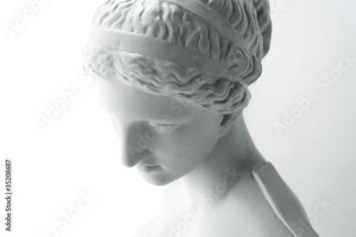 Fotografie, Obraz  White statue of Venus