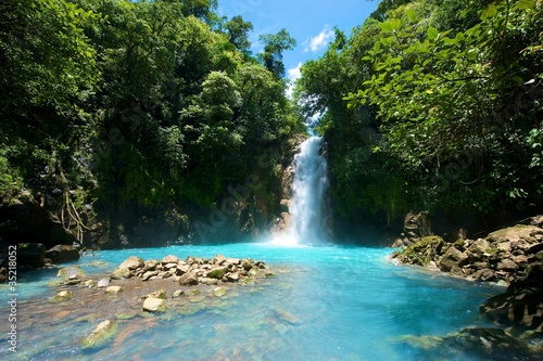 Photo Tenorio Waterfall, Costa Rica