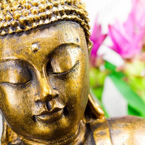 Foto op Canvas Boeddha Buddha Kopf
