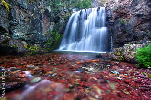 Rockwell Falls of Montana