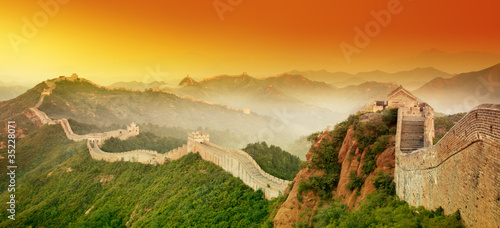 Photo sur Aluminium Pekin Great Wall
