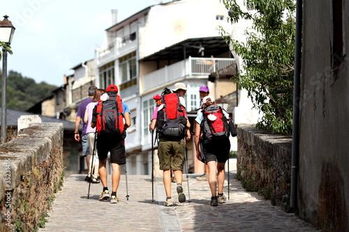Photographie Los tres peregrinos