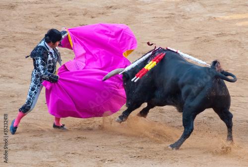 Spanish coriida