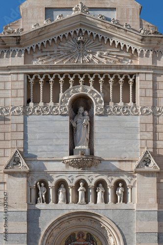 Photo  Monastery of Saint Chiara: details