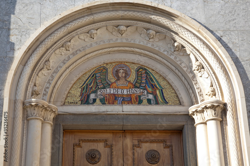 фотографія  Monastery of Saint Chiara: details