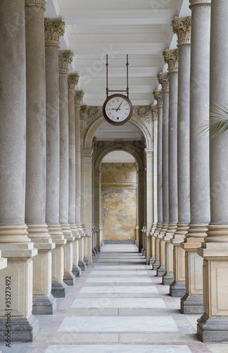 Photographie Colonnade in Karlovy Vary