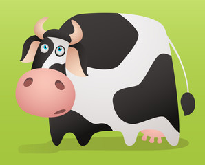 FototapetaCartoon Cow