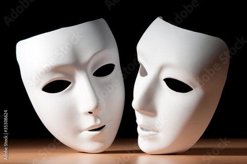 Valokuva  Masks with theatre concept