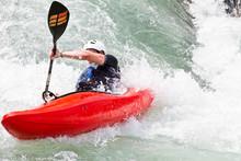 Kayak In Corrente